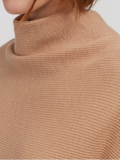 Bild von Oversized Pullover mit Fledermausärmeln