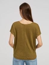 Bild von Oversized Shirt aus Leinen