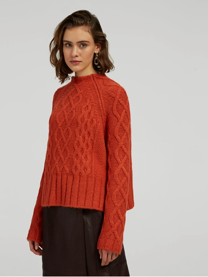 Image sur Pullover maille oversized