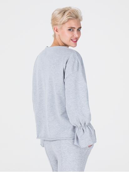 Bild von Sweatshirt mit gerafften Ärmeln