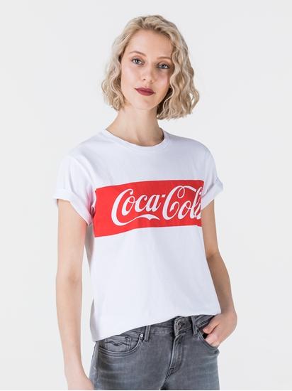 Bild von T-Shirt mit Coca Cola-Print