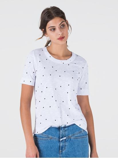 Bild von T-Shirt aus Flammgarn mit Print