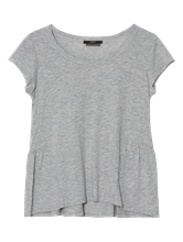Image sur Shirt moucheté avec volants