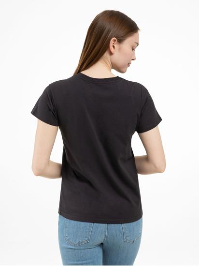 Bild von T-Shirt mit Stickerei
