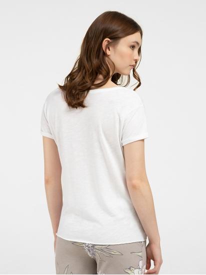 Image sur T-Shirt aus Flammgarn