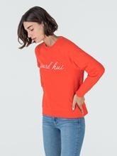 Bild von Sweatshirt mit Stickerei