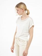 Bild von Shirt aus Leinen mit Lurex