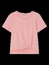 Image sur T-shirt froncé
