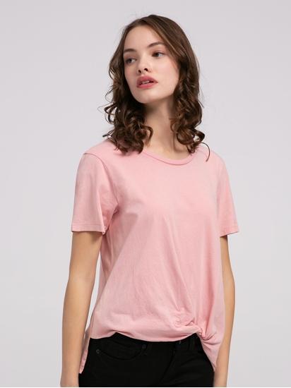 Bild von T-Shirt mit Raffung
