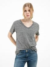 Image sur  T-shirt oversize moucheté