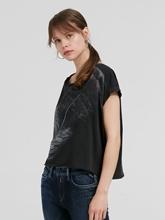 Bild von Oversized Shirt mit Print