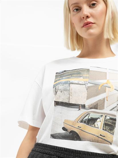 Bild von Oversized T-Shirt mit Print