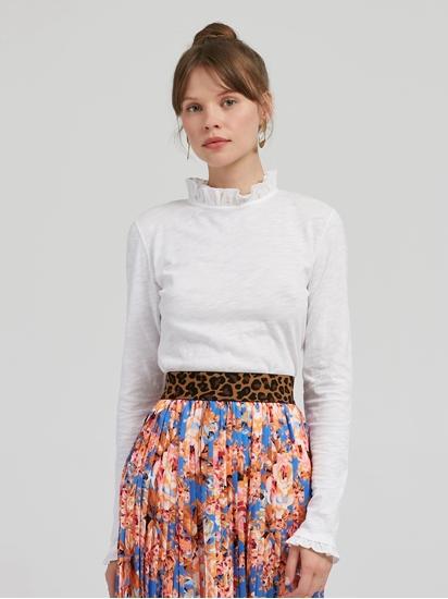 Image sur Shirt mit Rüschen