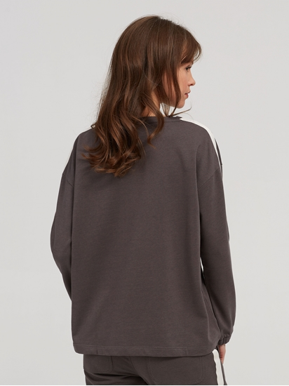 Bild von Sweatshirt mit Streifen auf dem Ärmel