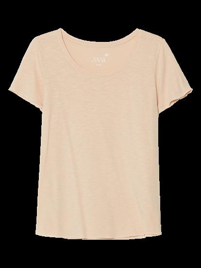 Bild von Basic T-Shirt aus Flammgarn