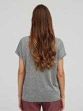 Image sur T-shirt avec lurex