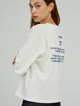 Bild von Sweatshirt mit Print am Rücken