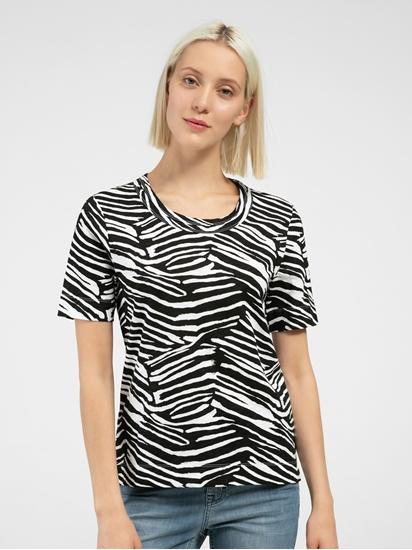 Image sur T-shirt motif zèbre
