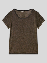 Image sur T-shirt lurex
