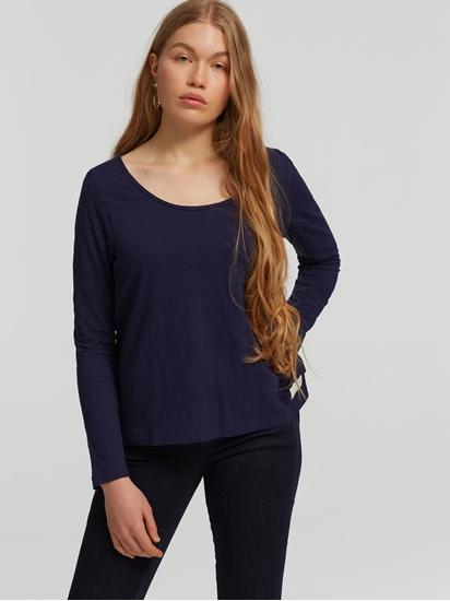 Image sur Shirt mélange de matières et broderie