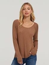 Image sur Pullover mit seitlichen Schlitzen