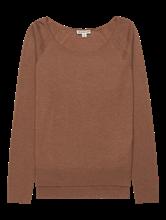 Bild von Pullover mit seitlichen Schlitzen