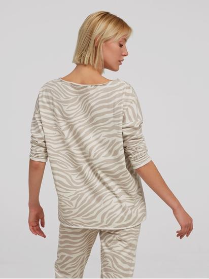 Bild von Oversized Sweatshirt mit Animal-Print