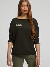 Bild von Oversized Sweatshirt mit Print
