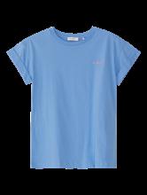 Image sur T-shirt brodé