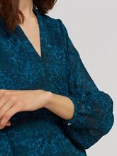 Image sur Blouse imprimé léopard DOBBY