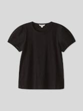 Image sur T-shirt avec manches pouffantes