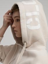 Image sur Hoodie avec logo imprimé