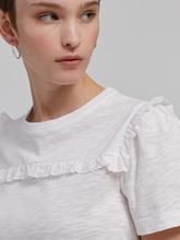 Bild von T-Shirt mit Rüschen-Details