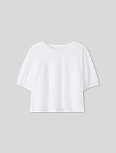 Image sur Shirt à manches ballon