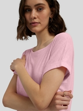 Image sur Shirt fil flammé Boxy Fit
