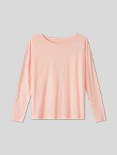 Image sur Sweatshirt en coton flammé Oversized Fit