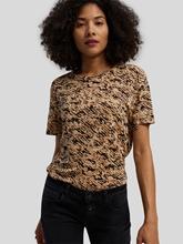 Image sur T-shirt en lin BARK