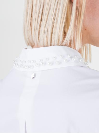 Image sur Blouse col à perles