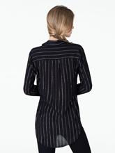 Bild von Oversized Bluse mit Lurexstreifen