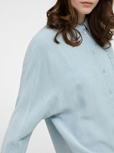 Bild von Oversized Bluse in Denim-Optik