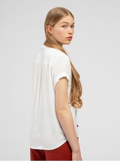 Bild von Bluse mit Aufschlag MAJAN