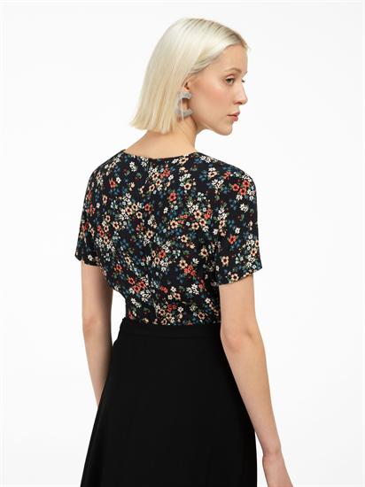 Bild von Bluse mit Blumen Print