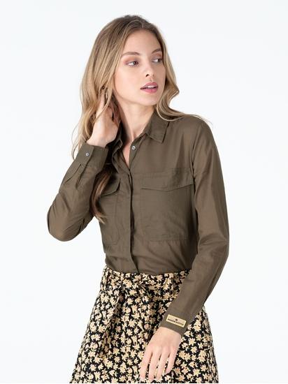 Image sur Blouse avec poches poitrine