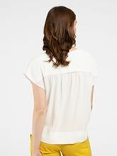 Image sur Bluse mit Schleife und Raffung
