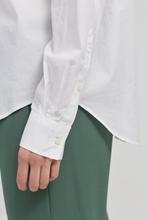 Bild von Bluse mit asymmetrischer Knopfleiste
