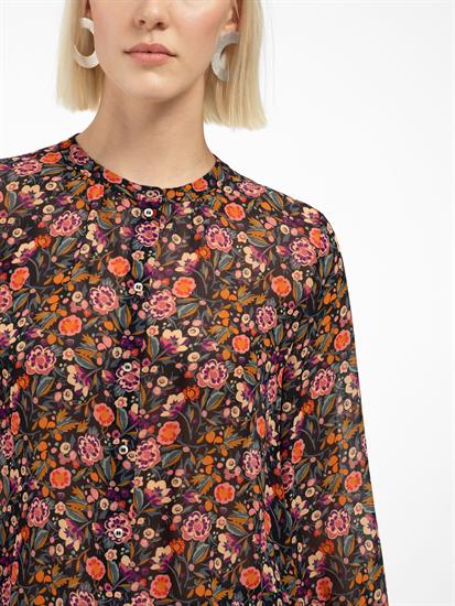 Image sur Blouse avec imprimé fleuri