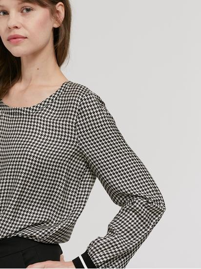 Bild von Blusenshirt mit Pepita-Muster
