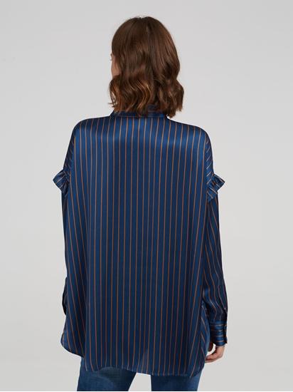 Image sur Blouse oversized à rayures
