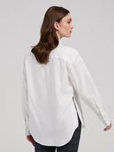Image sur Oversized Bluse mit Schlitz