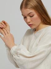 Bild von Kurze Bluse aus Leinen